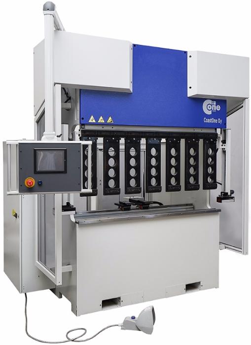 Электромеханический листогибочный пресс c ЧПУ СONE – 900