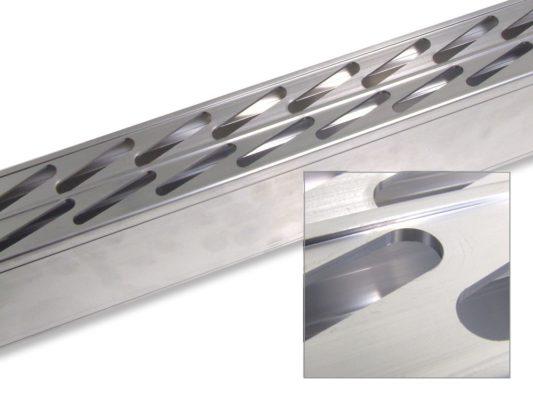 Пример детали из алюминия по чертежам заказчика