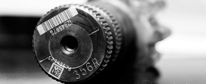 Пример маркировки деталей из металла