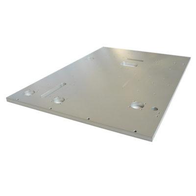 Пример полировки металлической поверхности
